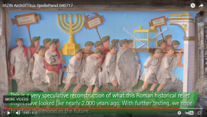 Special Look: The Arch of Titus in Color!